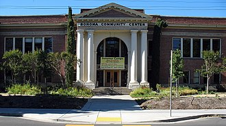 Community centre - Sonoma Community Center in Sonoma, California.