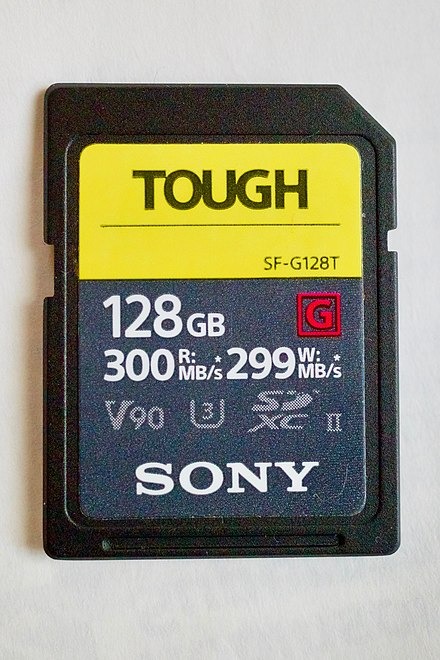 Sony 128GB SF-G Tough Series UHS-II SDXC Memory Card is one of the few cards in the market without a sliding tab on the write protect notch. Sony toughcard notch less design.jpg