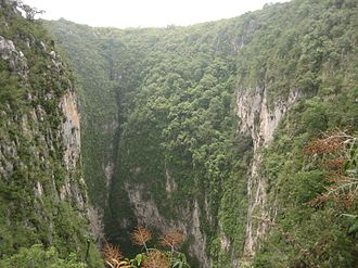 Querétaro - Sótano del Barro in the Sierra Gorda