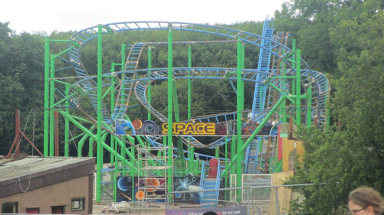 File space at oakwood theme park jpg wikimedia commons The oakwood