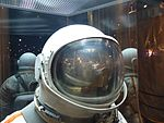 Space suits in Memorial Museum of Cosmonautics, Moscow, Russia, 2016 14.jpg