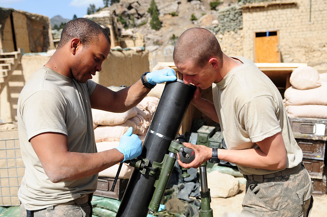 Mortar Fire Control System : Mortar fire control system dismounted