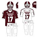 Sports uniform of the Mississippi State Bulldogs- Trademark of the National Collegiate Athletic Association and the Mississippi State University- 2014-06-17 11-43.jpg