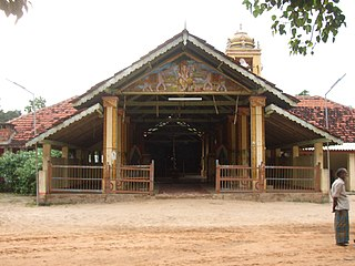 Mullaitivu Town in Sri Lanka