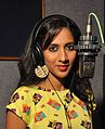 Srimathumitha in a recording.jpg