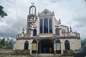 Dagami, Leyte - St. Joseph Parish Church, where the statue of the town's patron saint, St. Joseph, is enshrined