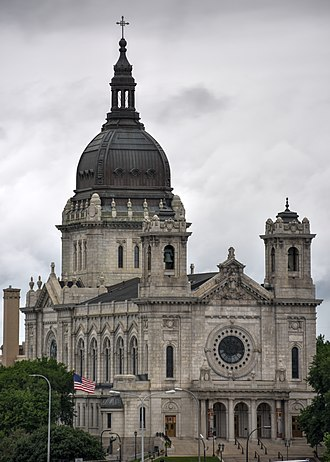 Basilica of Saint Mary (Minneapolis) - The Basilica of Saint Mary in 2016