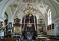 StGregory the Dialogist Church (interior), 40 Jeziorko street, Ruszcza,Nowa Huta, Krakow, Poland.jpg