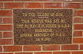 St Andrew's Presbyterian Church foundation stone in Leeton.jpg