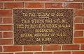 St Andrew's Presbyterian Church foundation stone in Leeton.jpg
