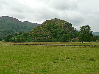 Eochaid, son of Rhun - The site of the mediaeval fortress of Dundurn, said to be the site of Giric's last stand. One possibility is that Eochaid perished with Giric here.