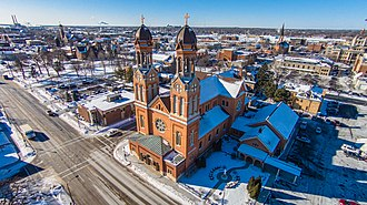Saint Francis Xavier Cathedral (Green Bay, Wisconsin) - Image: St Francis Xavier Cathedral in Green Bay