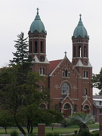 Rensselaer, Indiana - St. Joseph's College (church)