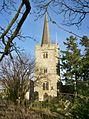 St Margaret, East Barming, the tower.JPG