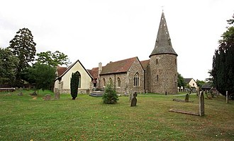 Broomfield, Essex - Image: St Mary, Broomfield, Essex geograph.org.uk 1494989