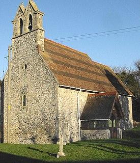 Coldred village in United Kingdom