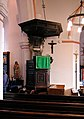 St Peter, West Molesey - Pulpit - geograph.org.uk - 391381.jpg