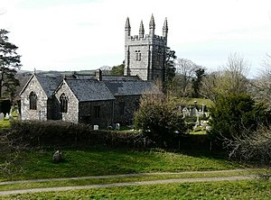 Lydford - Image: St Petrock's Church geograph.org.uk 1264667