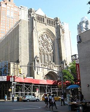 Church of St. Vincent Ferrer (Manhattan) - Image: St Vincent Ferrer 65 jeh