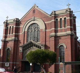 Sheila Florance - The church in Balaclava where Sheila married Roger Oyston in 1934