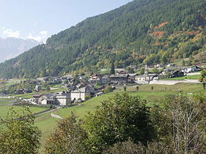 Saint-Oyen, Aosta Valley - the town