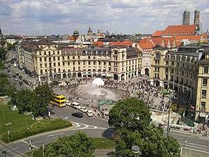 Deutsch: Stachus in München