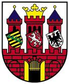 Das Wappen von Guben