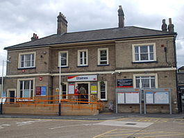 Staines station north building.JPG