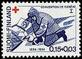 Stamp 1964 - Geneve convention - Wounded and Sick in Armed Forces.jpg