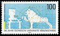 Stamp Germany 1995 Briefmarke TU Braunschweig 250.jpg