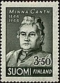 Stamp of Finland - 1944 - Colnect 188861 - Minna Canth 1844-1897 Author.jpeg