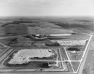 Safeguard Program - An aerial image of the Stanley R. Mickelsen Safeguard Complex