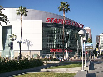Figueroa Street - Staples Center at 12th Street