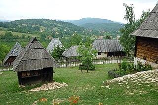 Sirogojno Village in Serbia