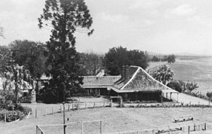 Cressbrook Homestead - The Cottage, Cressbrook, overlooking the Brisbane River