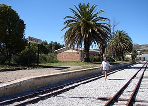 Avontuur - Avontuur's narrow gauge railway station