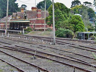 Korumburra railway station