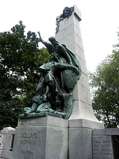 Adam Dollard des Ormeaux French colonial soldier in Quebec mythologized as hero