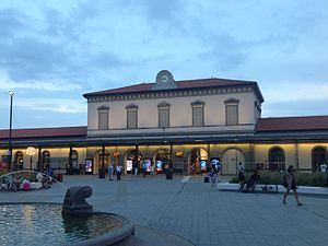 Milano rogoredo fs train station washroom