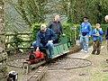 Steam Train at Tintern Old Station - geograph.org.uk - 483434.jpg