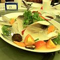 Steamed pomfret - a teochew favourite -birthday -dinner (10884224494).jpg