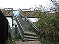Steps up to footbridge - geograph.org.uk - 1250877.jpg