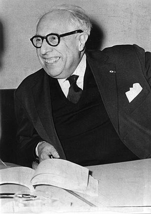 Jean Cassou - Jean Cassou in Belgrade 1963