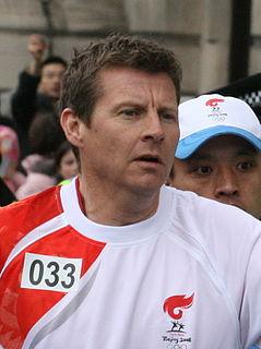 Steve Cram British retired track and field athlete