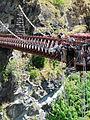 Steve leaps gracefully off the Kawarau bridge.jpg