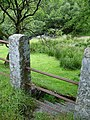 Stile at Two Bridges, Dartmoor - geograph.org.uk - 196514.jpg