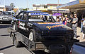 Stock car in the SunRice Festival parade in Pine Ave (2).jpg