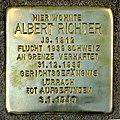 Stolperstein Albert Richter.JPG