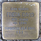 Stolperstein für Frieda David