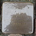 Stolperstein Goch Voßstraße 28 Josef Gerson.jpg